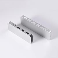 Card reader aluminum alloy casing
